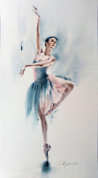 Akwarela z serii balet 72