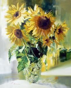Soneczniki-w-krysztalowym-wazonie